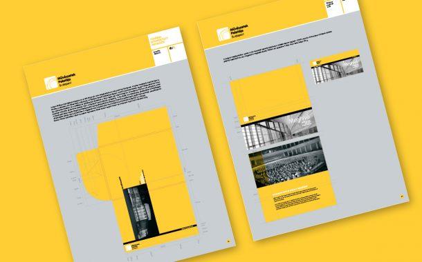 Arculatikézikönyv Müpa meghívó design
