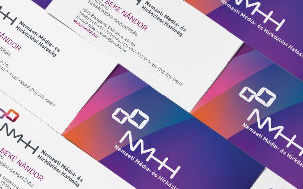 NMHH arculattervezés: névjegykártyák