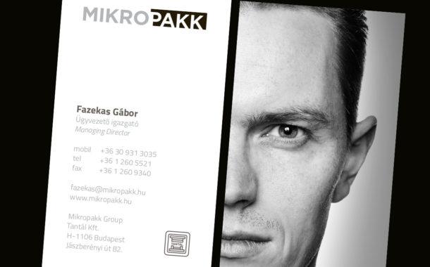 Arculattervezés: Mikropakk névjegykártyák