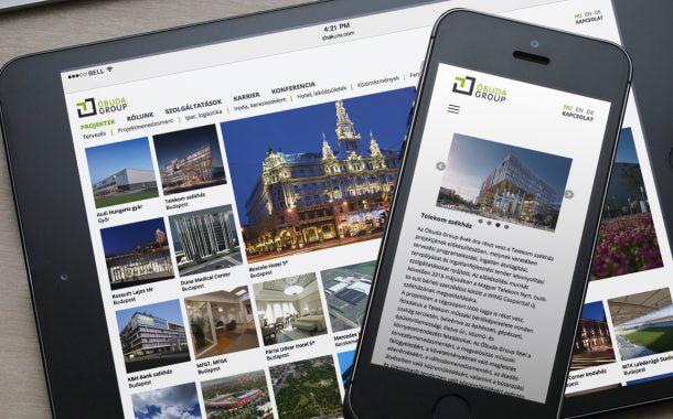 Óduba Group honlaptervezés és webdesign