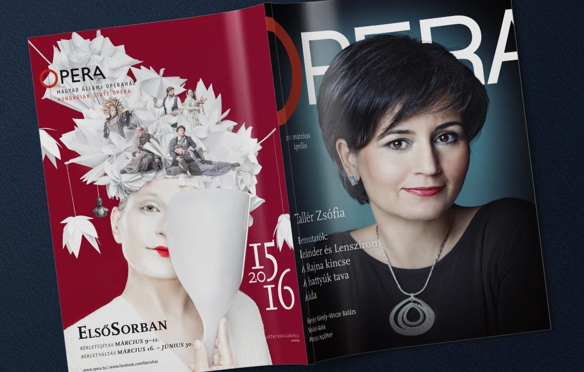 Kiadványtervezés: Opera Magazin