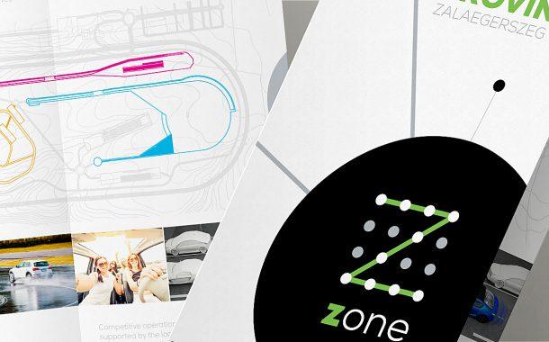 Zone névadás, logó tervezés, és kiadványtervezés