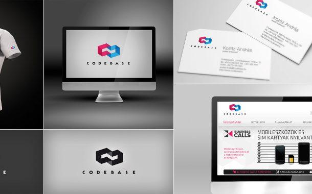 Codebase logó tervezés és arculat fejlesztés