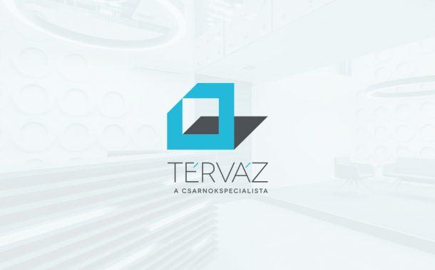 Térváz logó tervezés és márkázás