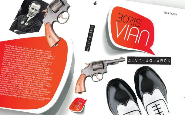 Kiadványtervezés: Boris Vian: Alvilágjárók