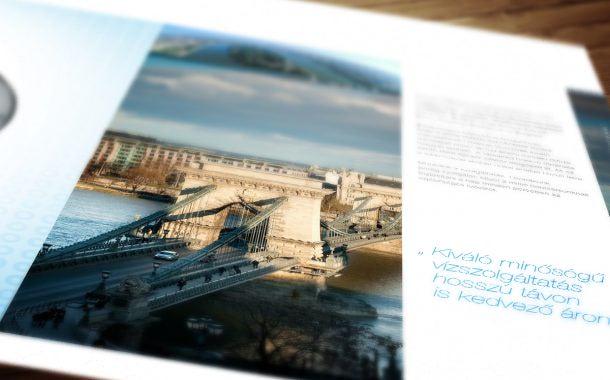 Kiadványtervezés: Fővárosi Vízművek image kiadvány