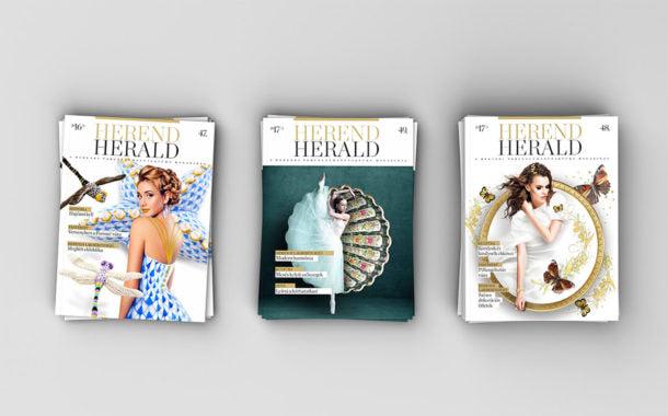 Márkamagazin tervezés: Herend Herald magazin
