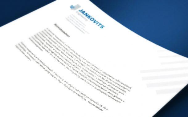Jankovits rebranding megjelenése a kiadványokban