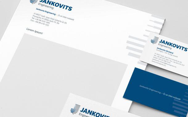Jankovits rebranding megjelenése az arculatban