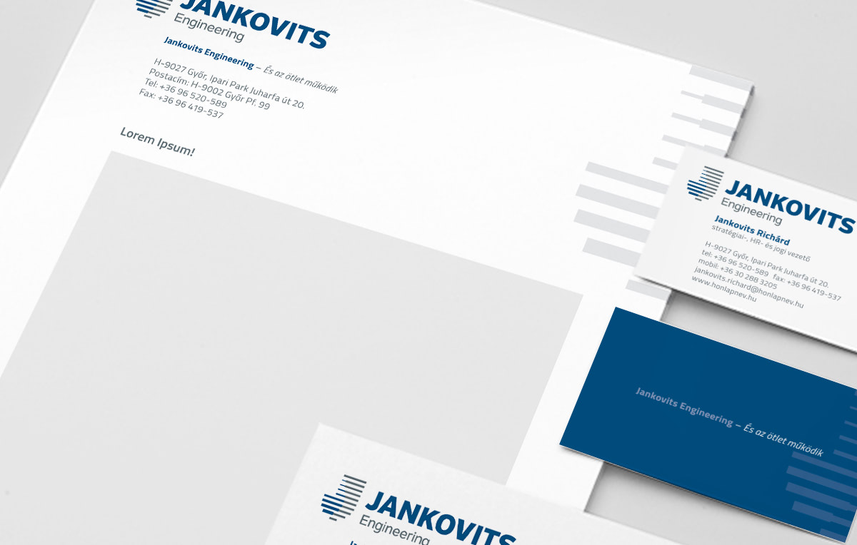 Arculattervezés Jankovits Engineering