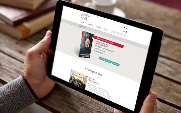 Jezsuita kiadó honlapfejlesztés és webdesign