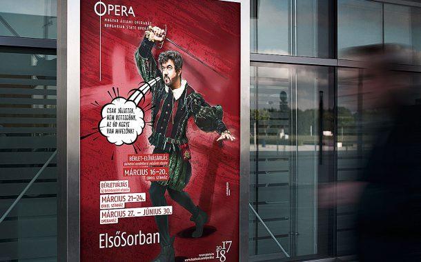 Plakáttervezés Opera 2017/18-as évad