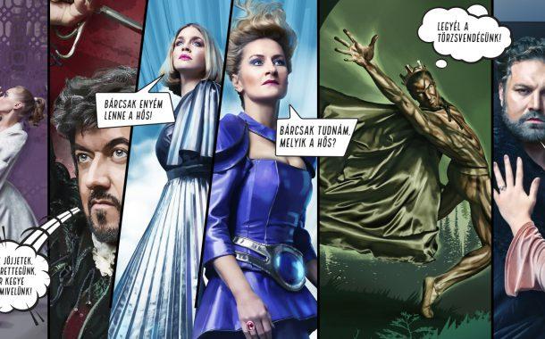 Plakáttervezés Opera évadkampány 2017/18