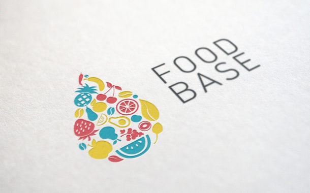 Foodbase arculattervezés logó