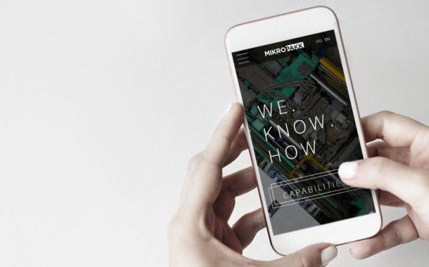 Az új webdesign mobilra való optimalizálása is megtörtént