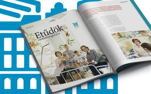 Kiadványtervezés: Az Opera Magazin 26. számának lapjai