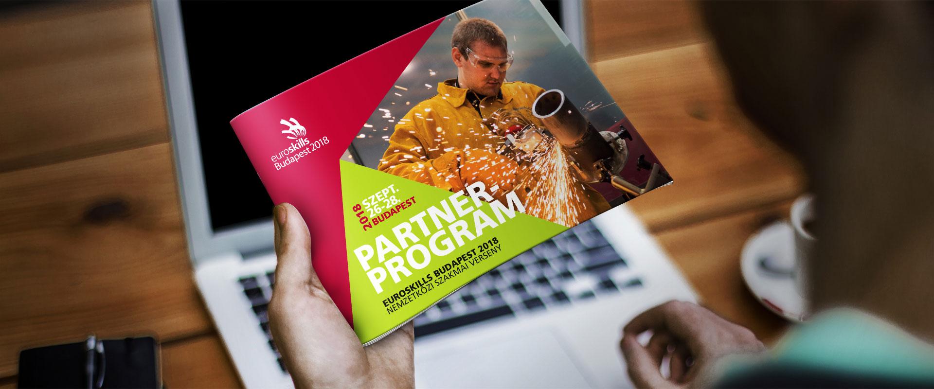 Kiadványtervezés: EuroSkills brossúra