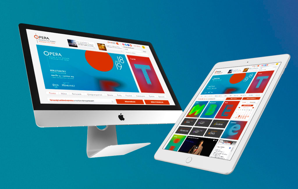 Opera webdesign