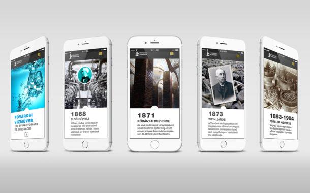 Vízművek honlaptervezés és webdesign