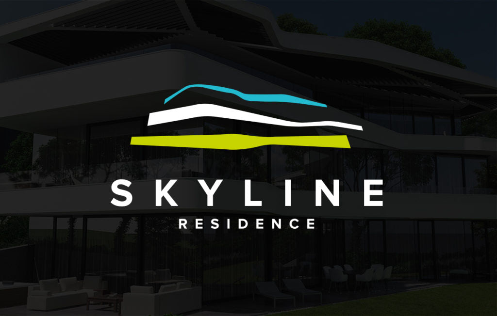 Skyline Residence arculattervezés