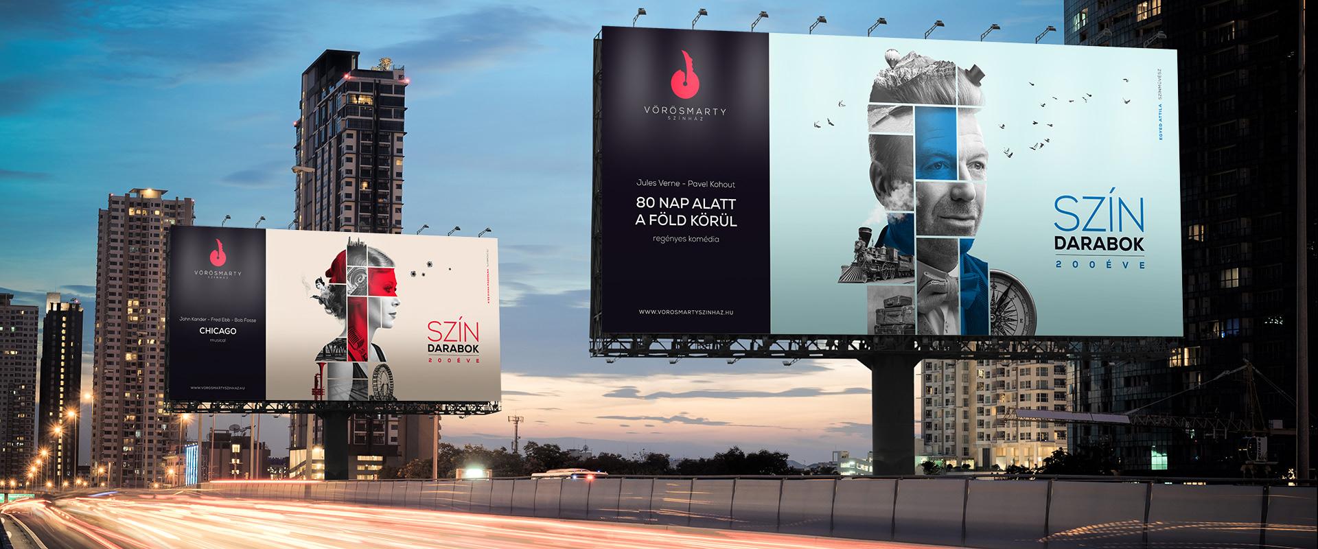 Vörösmarty Színház kampánytervezés