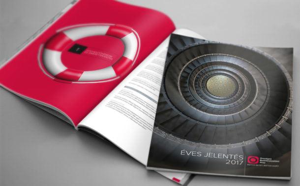 Kiadványtervezés: OBA Éves jelentés 2017.