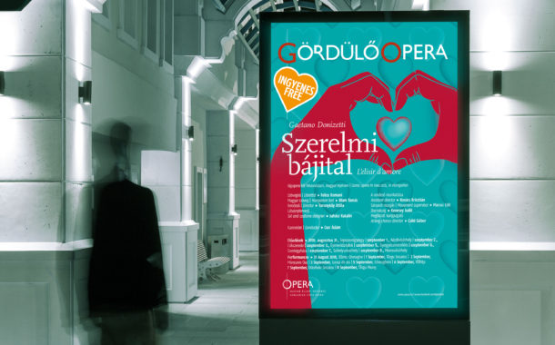 Opera New York-i kampány plakáttervezés