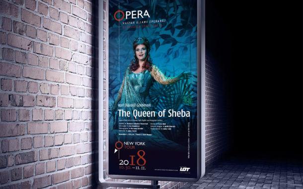 Opera New York-i turné plakáttervezés
