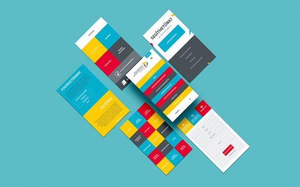 ÖRT mobil webdesign, arculattervezés