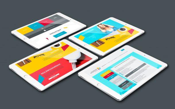 ÖRT webdesign, arculattervezés
