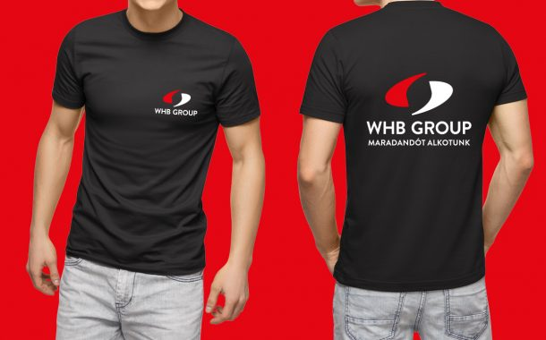 WHB Group póló design