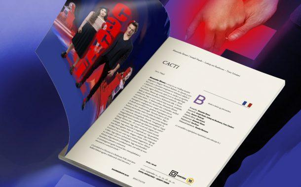 Kiadványszerkesztés Opera műsorkalauz 2020/21-es évad