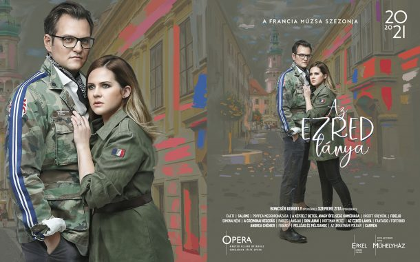 Francia évad imagekampány '20-21 - Az ezred lánya