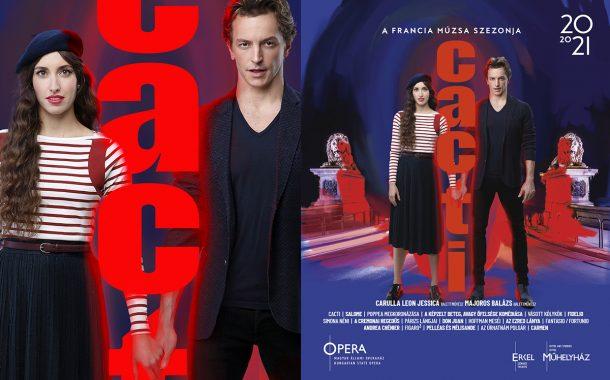 Opera imagekampány plakáttervezés - Cacti