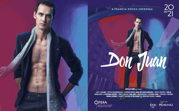 Opera imagekampány plakáttervezés - Don Juan