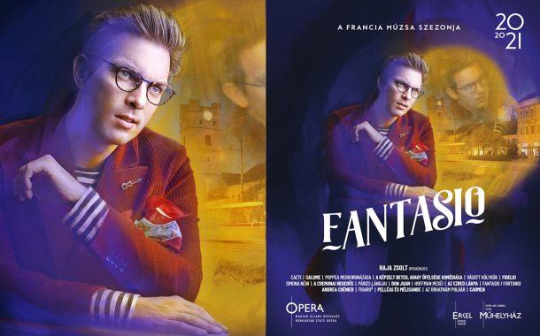 Opera imagekampány plakáttervezés - Fantasio