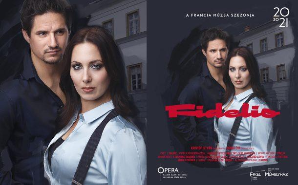 Opera imagekampány plakáttervezés - Fidelio