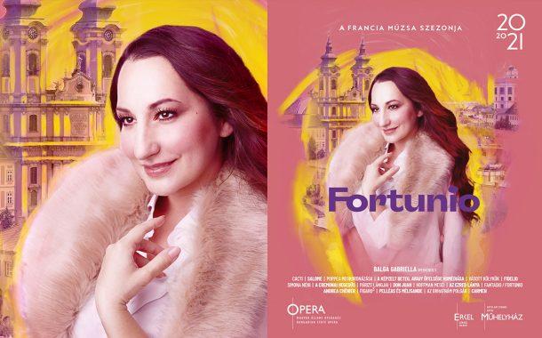 Opera imagekampány plakáttervezés - Fortunio