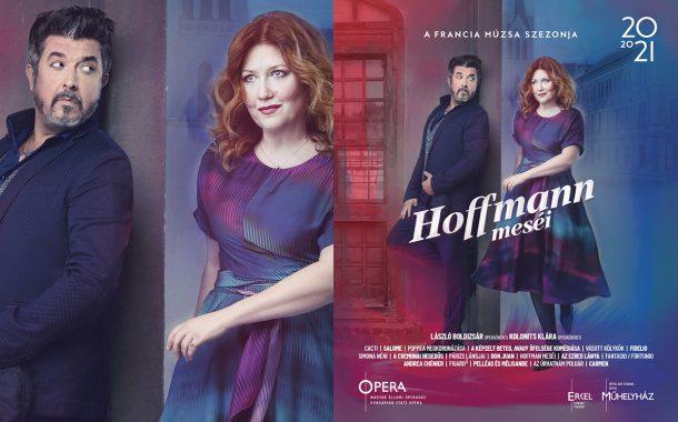 Opera imagekampány plakáttervezés - Hoffmann meséi