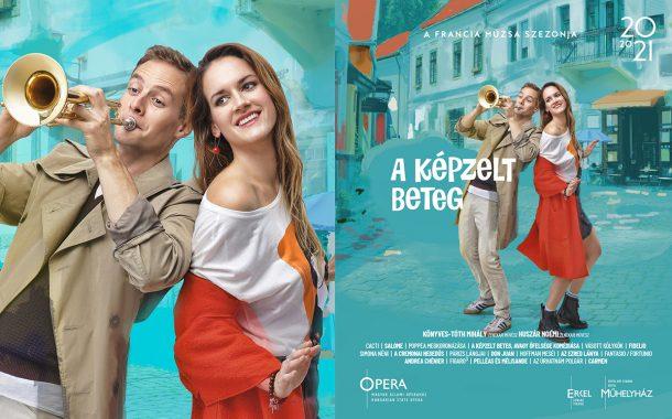 Opera imagekampány 2020/21 plakáttervezés - A képzelt beteg