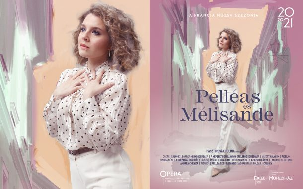 Opera imagekampány plakáttervezés - Pelleas és Mellisande