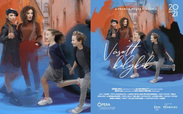Opera imagekampány plakáttervezés - Vásott kölykök