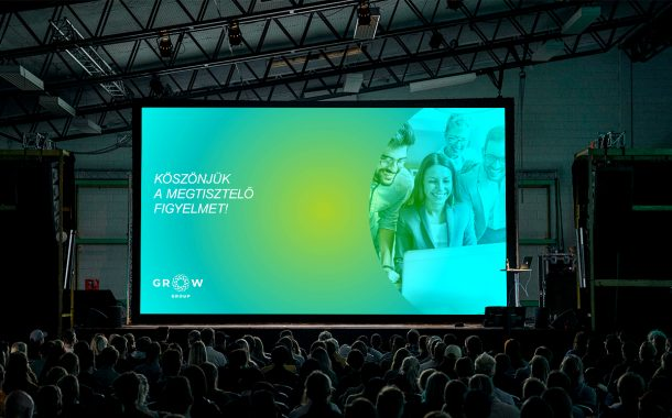 GROW Group prezentációs design