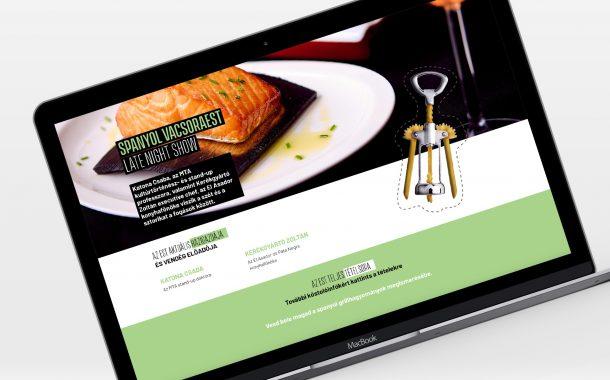 Webdesign és webfejlesztés Instant Nights