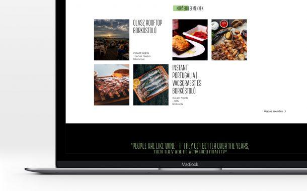 Webdesign rendezvényszervezés